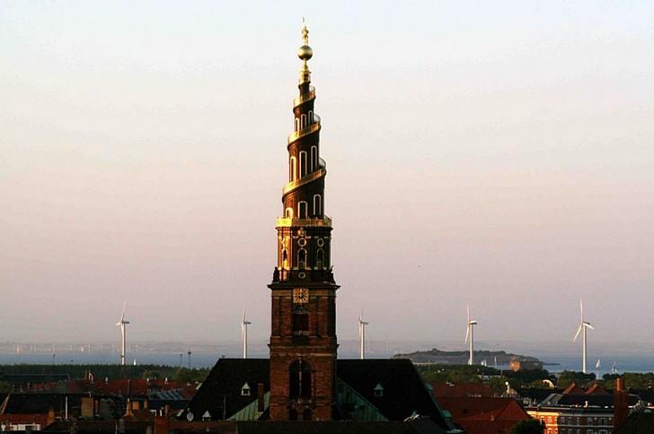 Церковь Спасителя (Church of Our Saviour) в Копенгагене