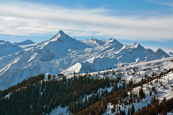 Гора и ледник Кицштайнхорн