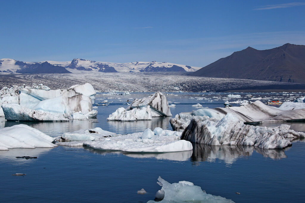 Ледниковая лагуна Йокульсарлон.