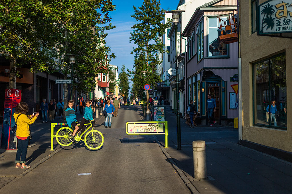 Улица Лёйгавегур.