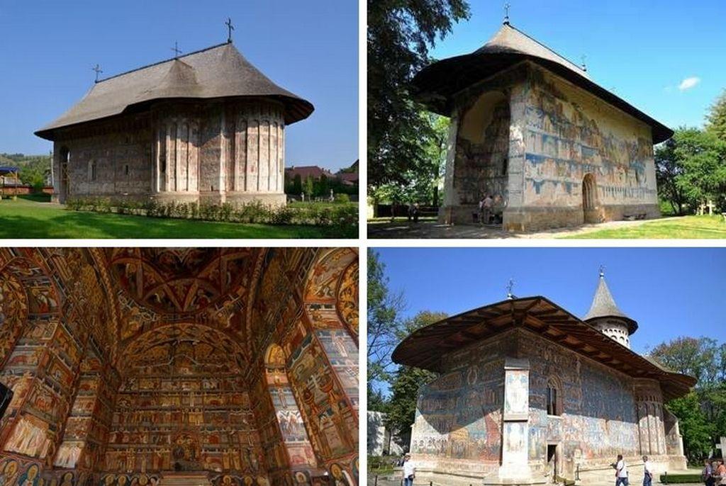 Церкви исторической области Молдова.