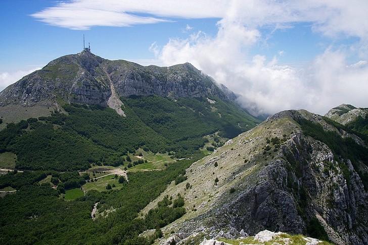 Гора и парк Ловчен