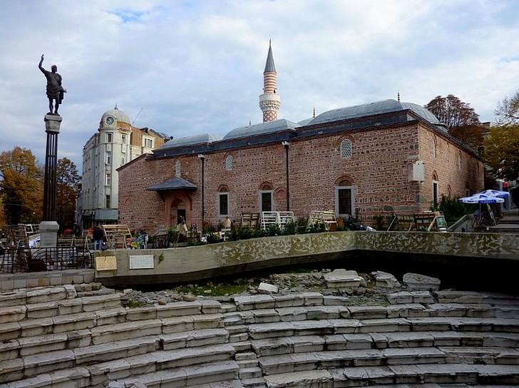 Мечеть Джумая в городе Пловдив