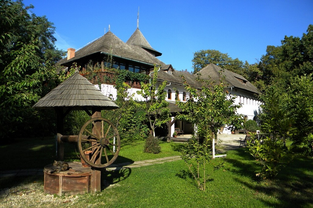 Музей румынской деревни.