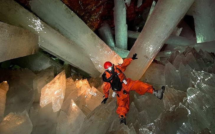 Пещера кристаллов гигантов