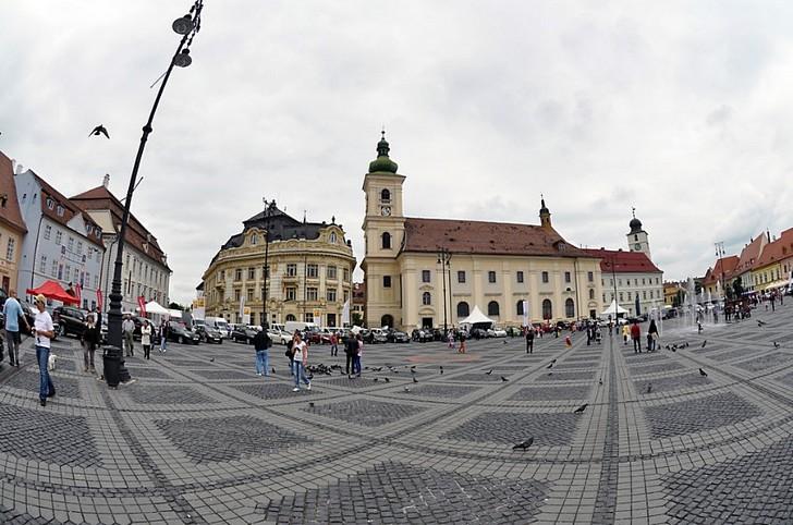 Исторический центр города Сибиу