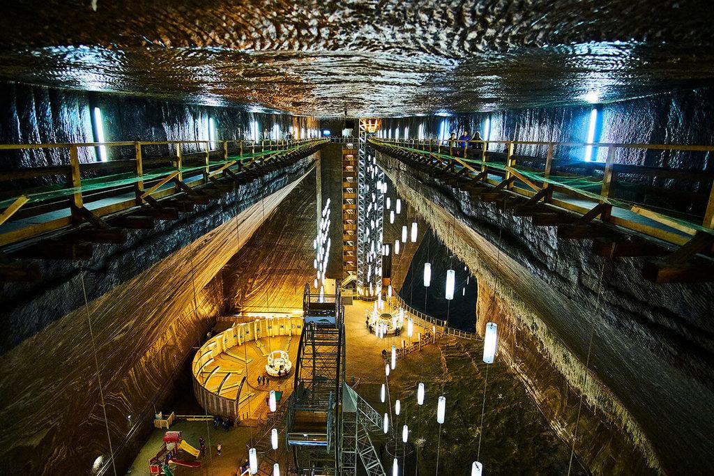 Соляная шахта в городе Турда.