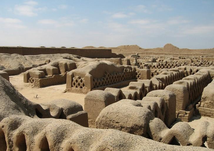 Древний город Чан-Чан