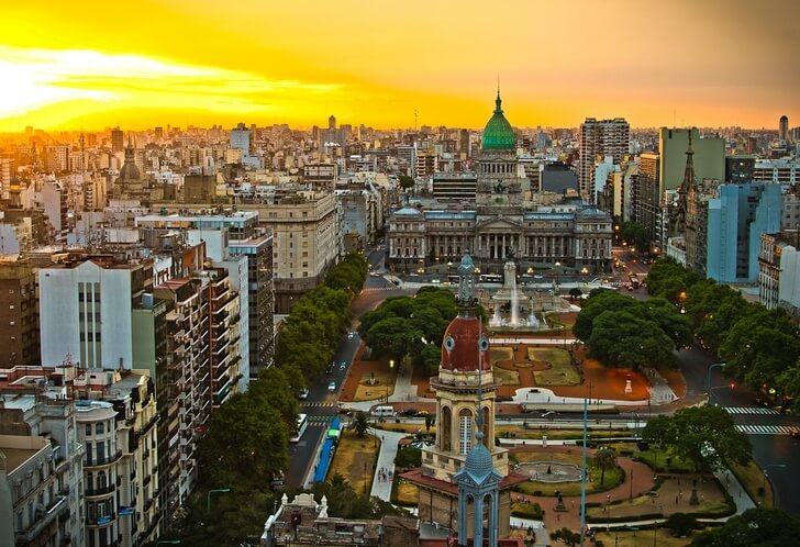Город Буэнос-Айрес.