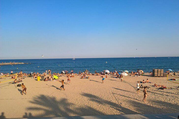 Пляж Богатель.