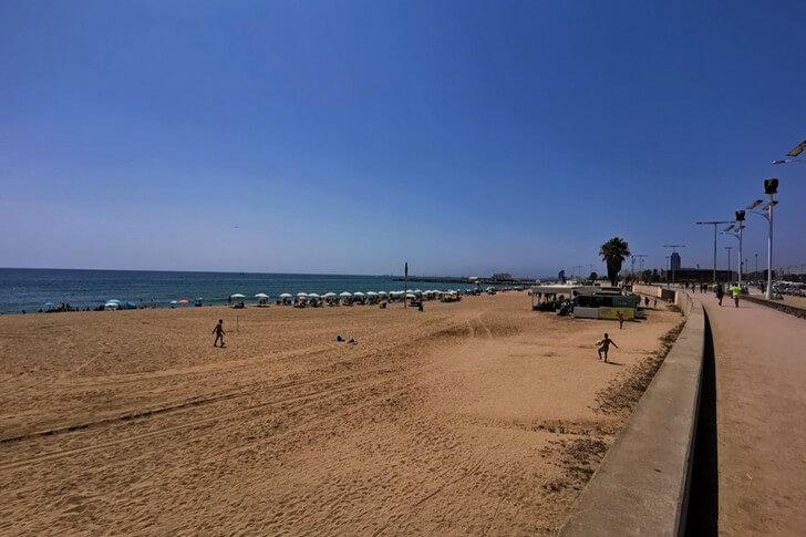 Пляж Нова Мар Белла.