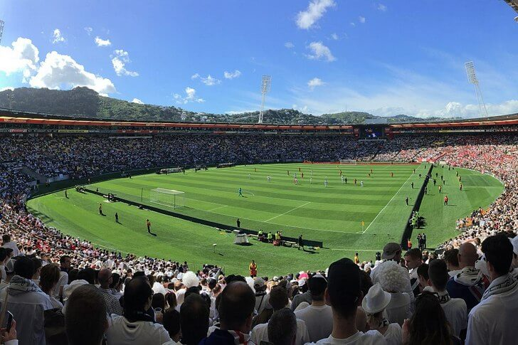 Веллингтонский региональный стадион.